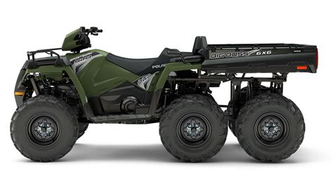 2016 Polaris Ranger 6x6 800 Efi Side By Side by 2018 Polaris Sportsman Big 6x6 570 Eps Atv Polaris