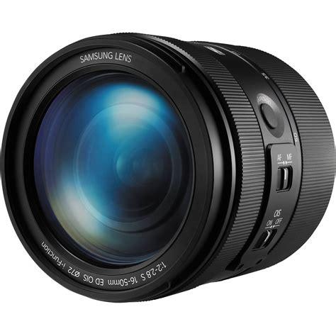 Samsung 16 50mm F 2 2 8 S Ed Ois samsung 16 50mm f 2 2 8 s ed ois lens ex s1650asb us b h photo