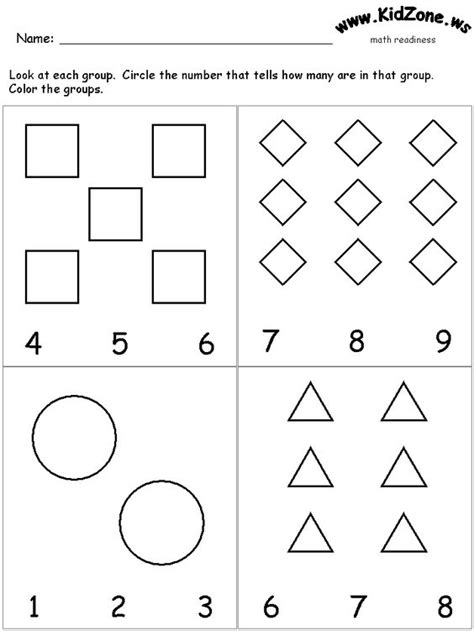 maths activity sheets for 3 year olds this site has great preschool learning activity sheets