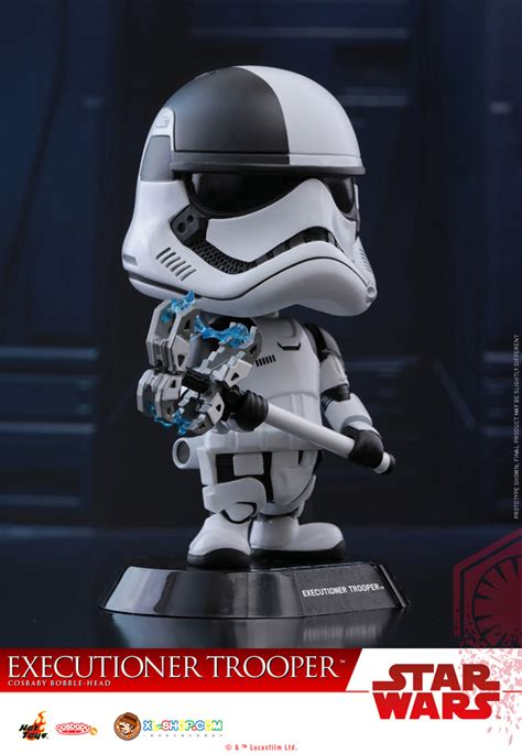 Hottoys Cosbaby Trooper Order toys cosb412 wars the last jedi cosbaby s bobble series executioner
