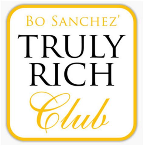 truly rich club review + stock market philippines + bo sanchez
