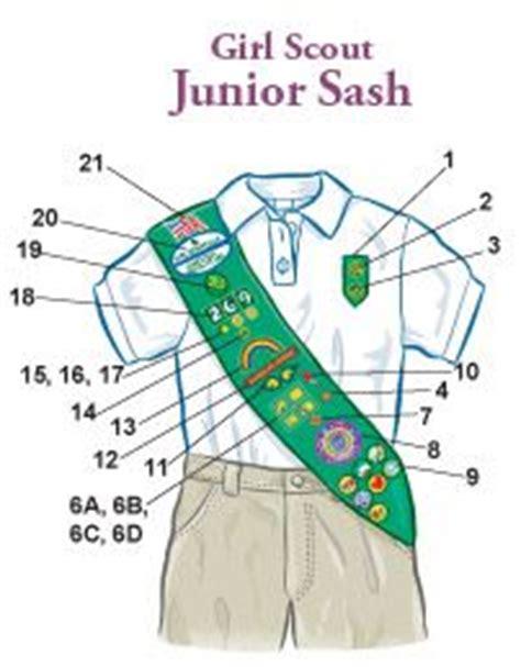 scout junior sash diagram 1000 images about scouts juniors on