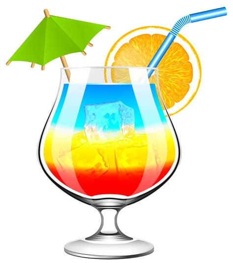 mixed drink clipart the gallery for gt hawaiian beach clipart