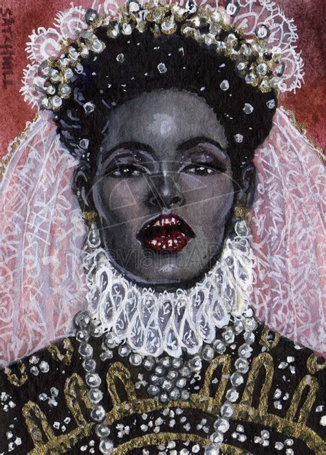 black queen black women art the black queen by marksatchwill visit