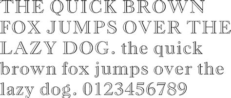 free printable outline fonts century old style font images