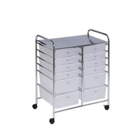 12 drawer rolling cart honey can do 12 drawer rolling cart crt 01683 the home