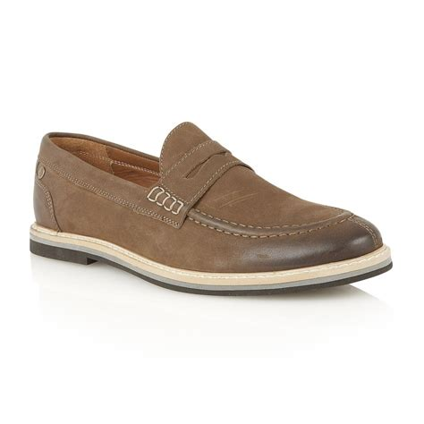 frank wright loafers buy s frank wright blyth brown leather loafer