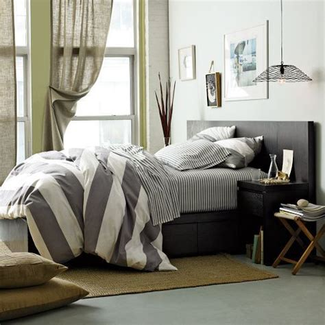 Gray Stripe Comforter by Table Styling Grey Comforter And Stripes