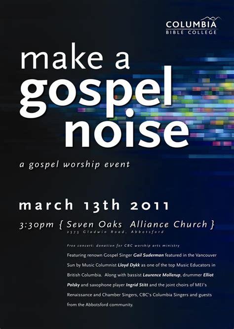 Invitation Letter For Gospel Meeting Mei