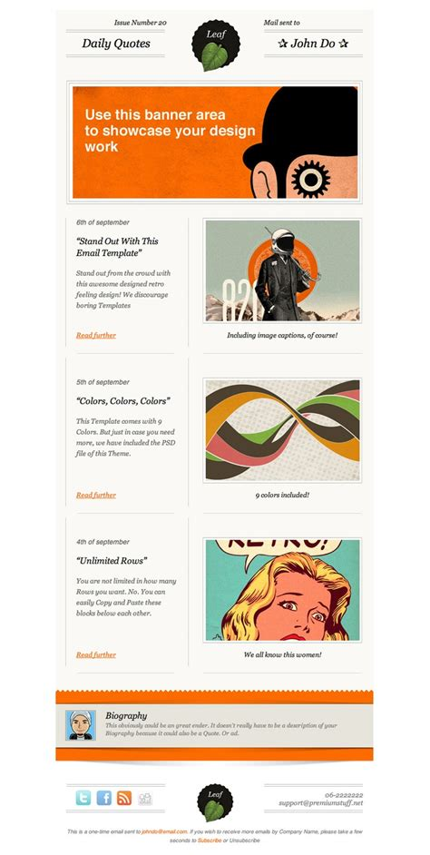 design html email newsletter 17 best images about newsletter ideas on pinterest email