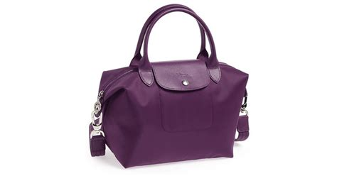 Longch Le Pliage Neo Small With Murah longch le pliage neo small tote purple in purple