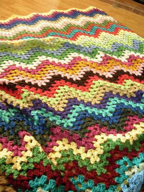 free pattern granny ripple afghan ravelry granny ripple afghan pattern by project linus