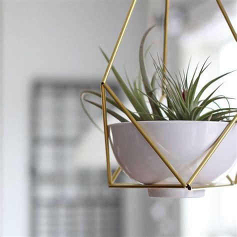 modern hanging planters lotus 01 geometric modern hanging planter geometric