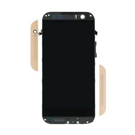 Lcd Htc M8 htc one m8 lcd touch screen assembly with frame gold