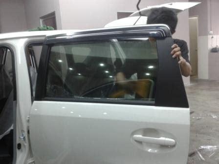 Cermin Alza pemilihan tinted kereta untuk my new perodua alza