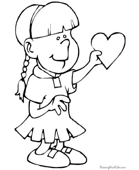 coloring page of st valentine saint valentine coloring page 017