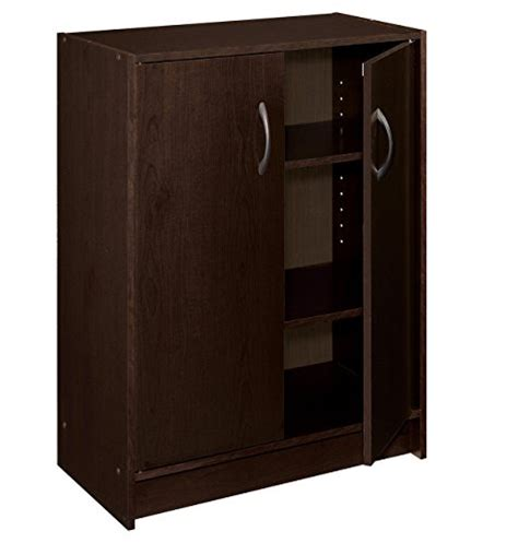 closetmaid door organizer closetmaid 8925 stackable 2 door organizer espresso