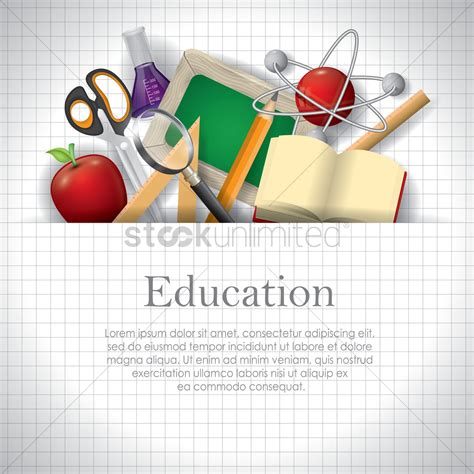 education wallpaper education wallpaper vector image 1821875 stockunlimited