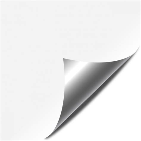 Paper Corner Fold - folded corner vector free