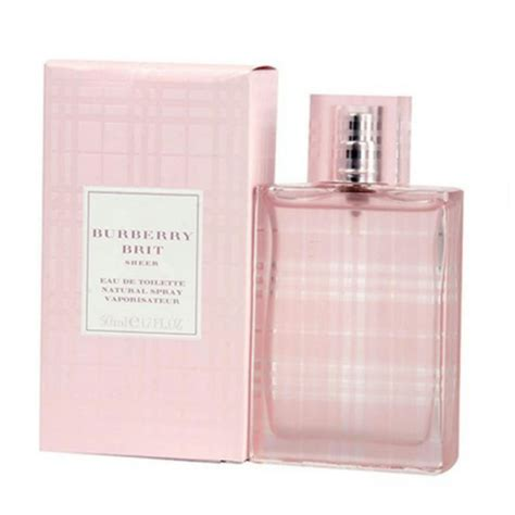 Parfum Original Burberry Brit Sheer 1 burberry brit sheer for edt 1 0 oz 30 ml made in fragrance tradesy