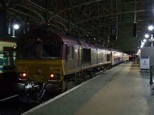 Glasgow To Sleeper by The Caledonian Sleeper At Glasgow 169 Nugent Cc By