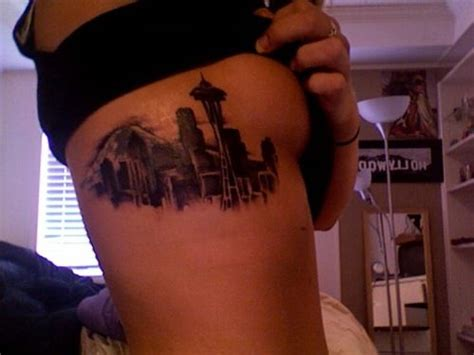 seattle skyline tattoo designs 25 best ideas about seattle skyline on