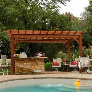 Pressure Treated Pergola by Bayhorse Gazebos Amp Barns Traditional Wood Pergola 10