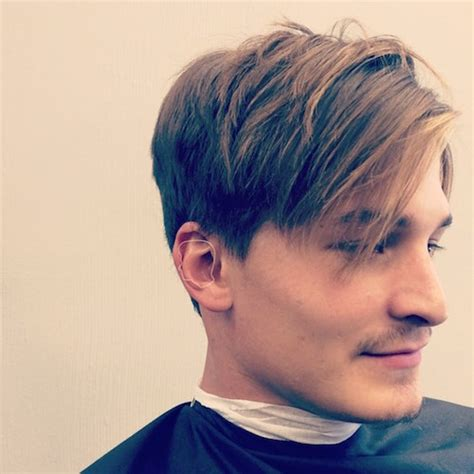 Fall 2015 Men's Hairstyle Trends: Longer   Natural Looking