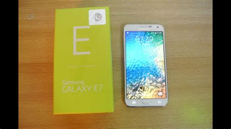 samsung galaxy e7 unboxing setup look hd