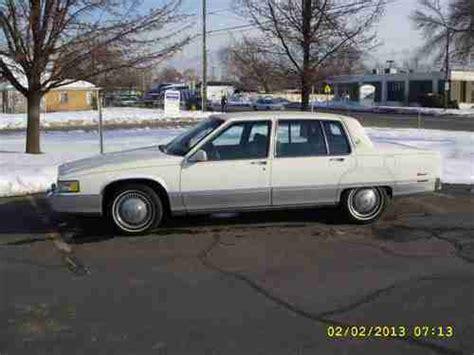 1990 Cadillac Fleetwood Sale Purchase Used 1990 Cadillac Fleetwood In Salt Lake City