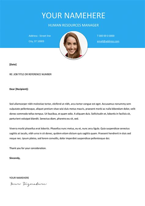 modern cover letters le marais free modern resume template