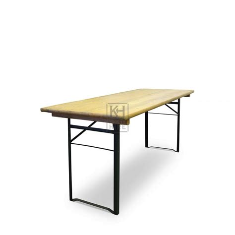 Folding Legs For Table Tables Prop Hire 187 Trestle Table With Folding Legs Keeley Hire