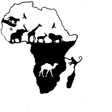 African Wall Stickers aliexpress com acheter africaine stickers muraux afrique