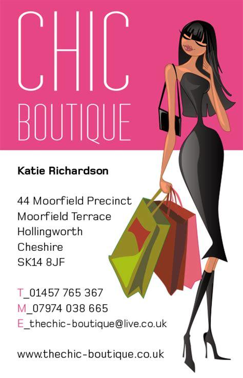 Visiting Card Design For Boutique