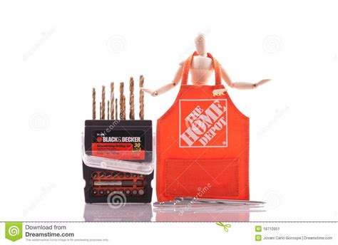 Home Depot Time by The Home Depot Black And Decker Editorial Photo Image