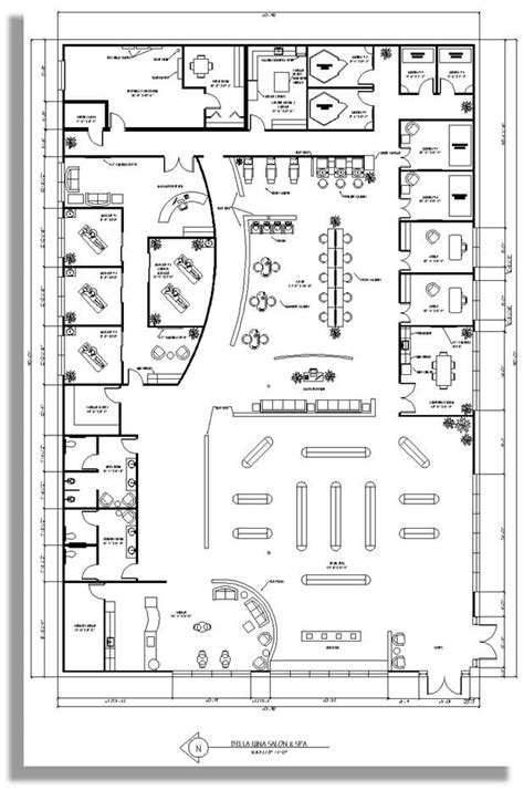 salon and spa floor plans 20 best f plan restaurants images on