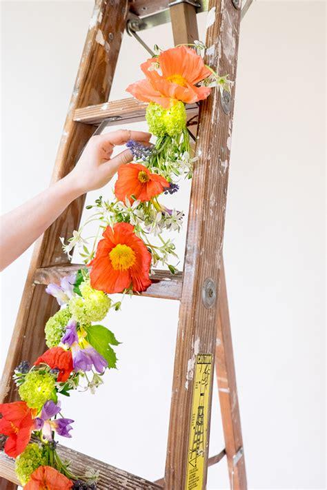 spring diy diy spring string light garland design sponge
