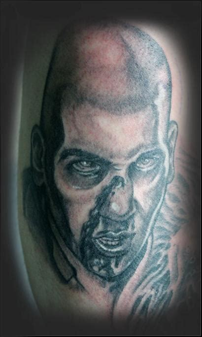 tattoo on shane s chest walking dead shane quot the walking dead quot by james rowe tattoonow