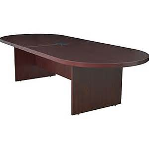 Power Grommet For Conference Table Legacy 120 Quot Racetrack Conference Table With Power And Data Grommet Mahogany Staples 174