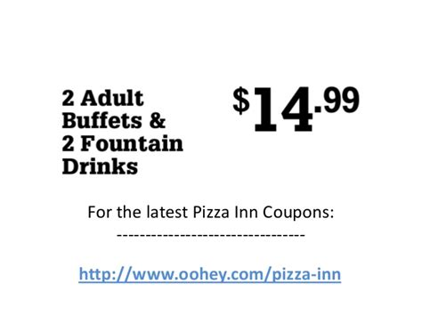 inn coupons pizza inn coupons code march 2013 april 2013 may 2013