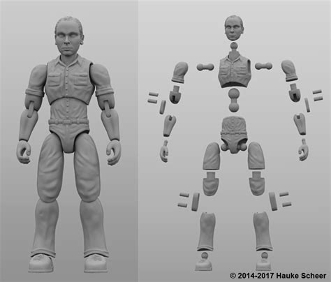 figure joints hauke scheer s new 3d printed figure can move