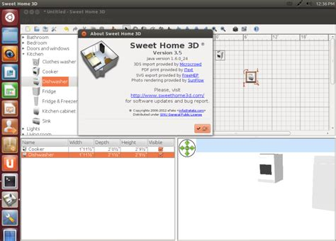 3d home design software ubuntu sweet home 3d updated to version 3 5 installation under