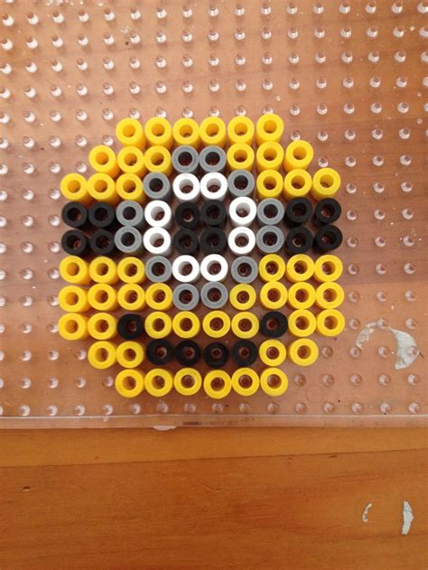minion melty minion magnet perler by jena on deviantart
