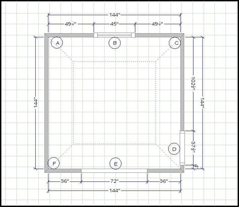 room design template grid kitchen measuring guide easy measurements for cabinets