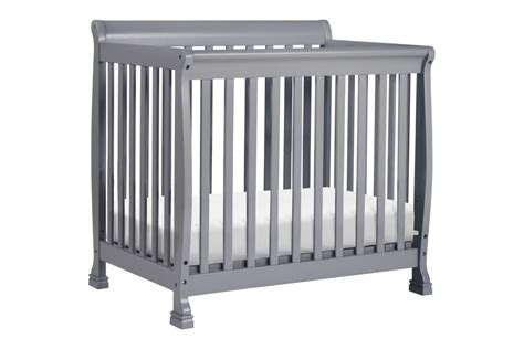 grey mini crib davinci kalani mini crib grey n cribs
