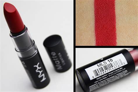 Lipstick Nyx Review nyx matte lipstick www pixshark images