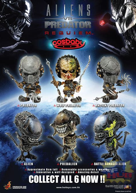 afhub  action figure hub avpr cosbaby  hot toys