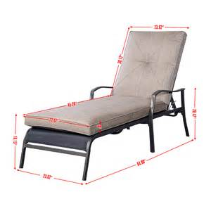 Pool Chaise Lounge Chairs Adjustable Pool Chaise Lounge Chair Recliner Outdoor Patio Furniture Durable New