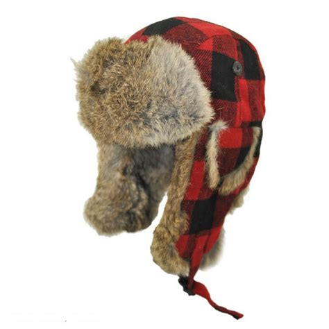 Trapper Hat woolrich buffalo check trapper hat cold weather