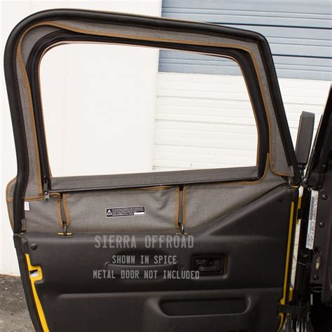 Jeep Wrangler Tj Half Doors Offroad Jeep Wrangler Tj Soft Top 97 02 In Spice